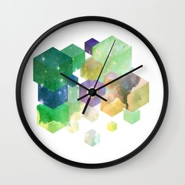 Fly Cube N1.4 Wall Clock