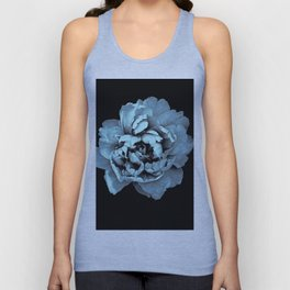 Blue Peony, Under The Floral Spell Unisex Tank Top