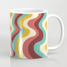 squiggly mars_funky palette Coffee Mug
