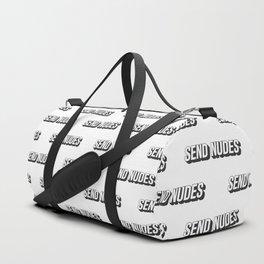 Send Nudes Duffle Bag