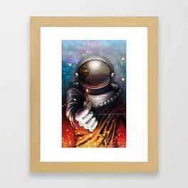 184, Let's Burn it Down Framed Art Print