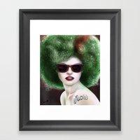 Willow Fro Framed Art Print