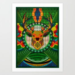 Spirit of the Forest Art Print