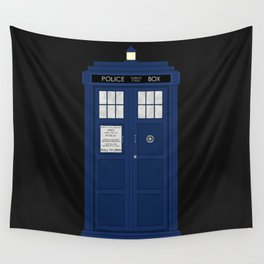 Doctor Who's Tardis Wall Tapestry
