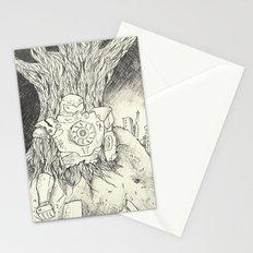 Litho Mecha Stationery Cards