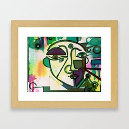VAN NO GOGH Framed Art Print