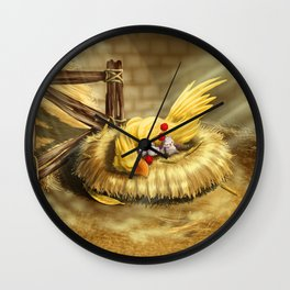 Nap Time Wall Clock