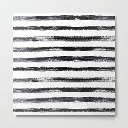 Grungy stripes Metal Print