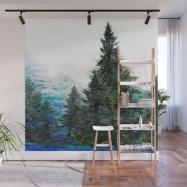GREEN MOUNTAIN PINES LANDSCAPE Wall Mural