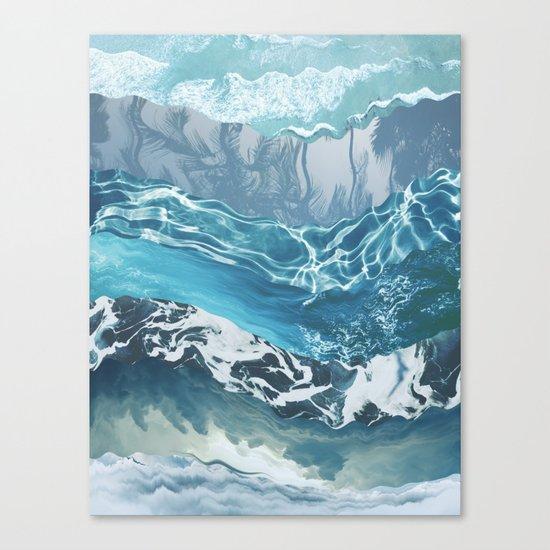 Sea abstract Canvas Print