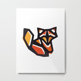 Anigami Fox Metal Print