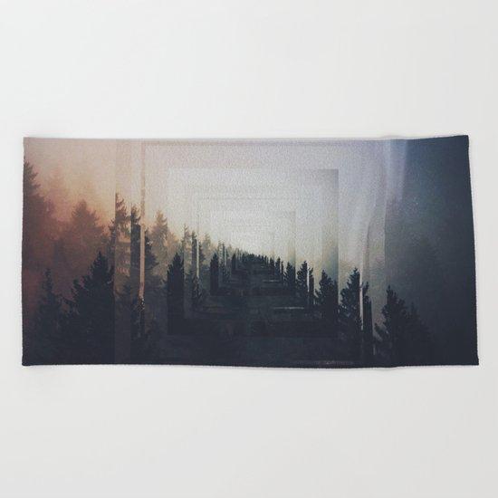 Fractions A87 Beach Towel