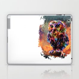 brave little owl Laptop & iPad Skin