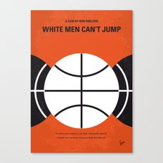 No436 My White Men Cant Jump minimal movie poster Canvas Print