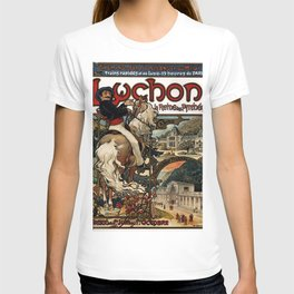 Vintage poster - Luchon T-shirt