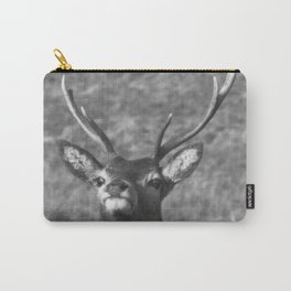 """""""You looking at me?' Ardnamurchan Deer, Highlands of Scotland Carry-All Pouch"""