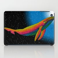the whale iPad Cases featuring Whale by Luna Portnoi