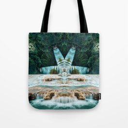 Kaleidoscape: Agua Azul Tote Bag