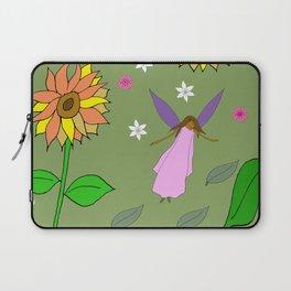 African Sunflower Fairy Laptop Sleeve
