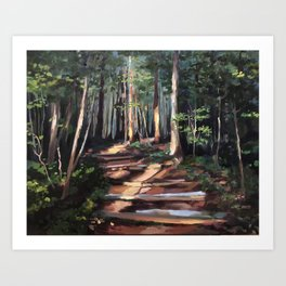 You Can Make the Pathway Bright Art Print