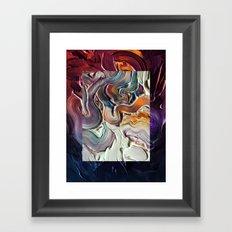 Falling Out Framed Art Print