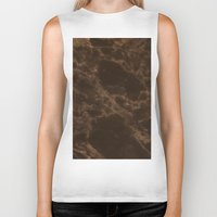 marble Biker Tanks featuring Marble by Norms