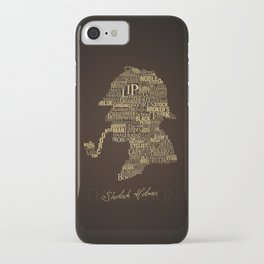 Sherlock Holmes The Canon iPhone Case