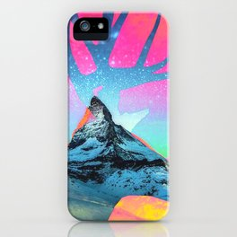 Matterhorn 1 iPhone Case
