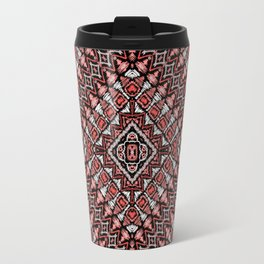 Ethnic in brown Travel Mug