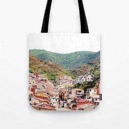 Riomaggiore, La Spezia. Tote Bag