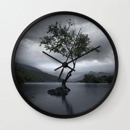 Lone Tree - Snowdonia Wall Clock