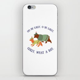Robin Hood and Little John iPhone Skin