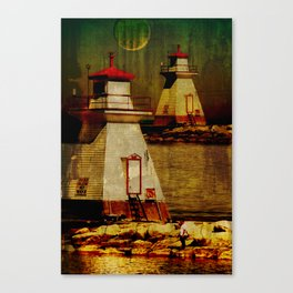 Southampton lighthouse Canvas Print