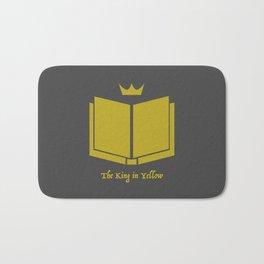 The King in Yellow Bath Mat