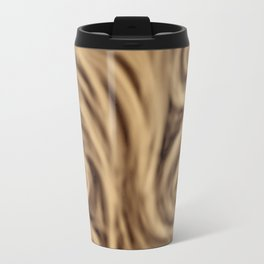 bohemian burnt sienna swirl pattern Travel Mug