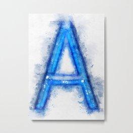 A Letter  Metal Print