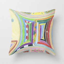 Alchemy 4 Throw Pillow