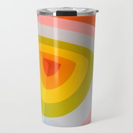 Rainbow Abstract Travel Mug