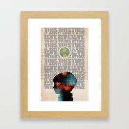 Art That Helps Collaboration Print Framed Art Print