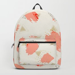 Strokes and geometric Backpack