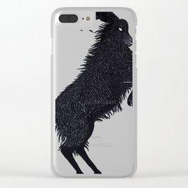 Black Phillip (Fan Art) Clear iPhone Case