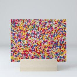 Hundreds and thousands Mini Art Print