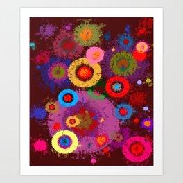Abstract #360 Art Print