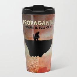 Obama Is Full of Propaganda Travel Mug