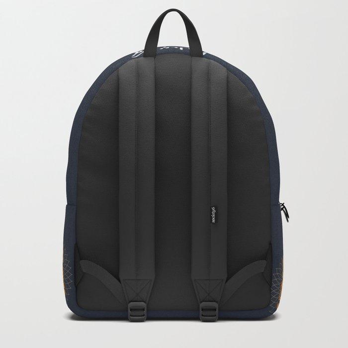 Be Happy Little Buddha Backpack