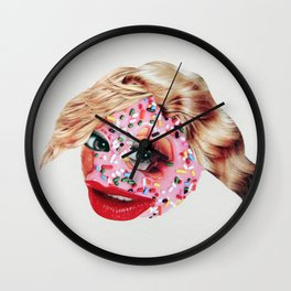 Sugar Lips Wall Clock