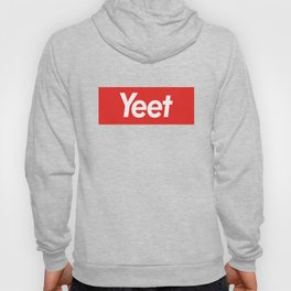 Yeet-Supreme Logo Parody Hoody