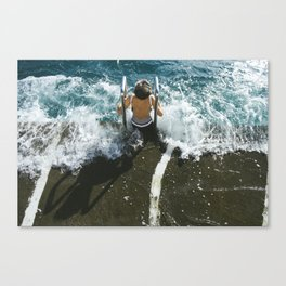 Monaco Swim #2 Canvas Print