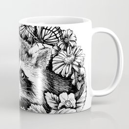 "Summer raccoon. From the series ""Seasons"" Coffee Mug"