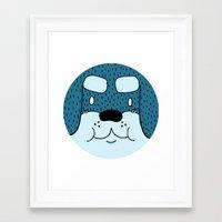 rottweiler Framed Art Prints featuring ROTTWEILER by Flash Harrold